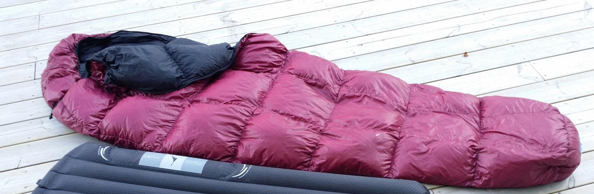 Sovsäck: Western Mountaineering Highlite