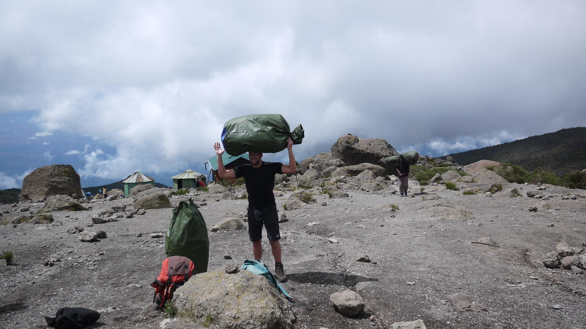Utvärdering av utrustning, Kilimanjaro