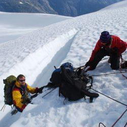 Glaciärkurs och träning i Norge