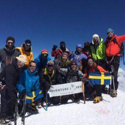 Jag klarade det! Europas högsta berg bestiget!