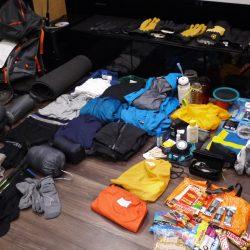 Reflektioner över utrustningen till Aconcagua