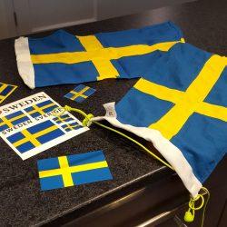 Stolt över att representera Sverige!