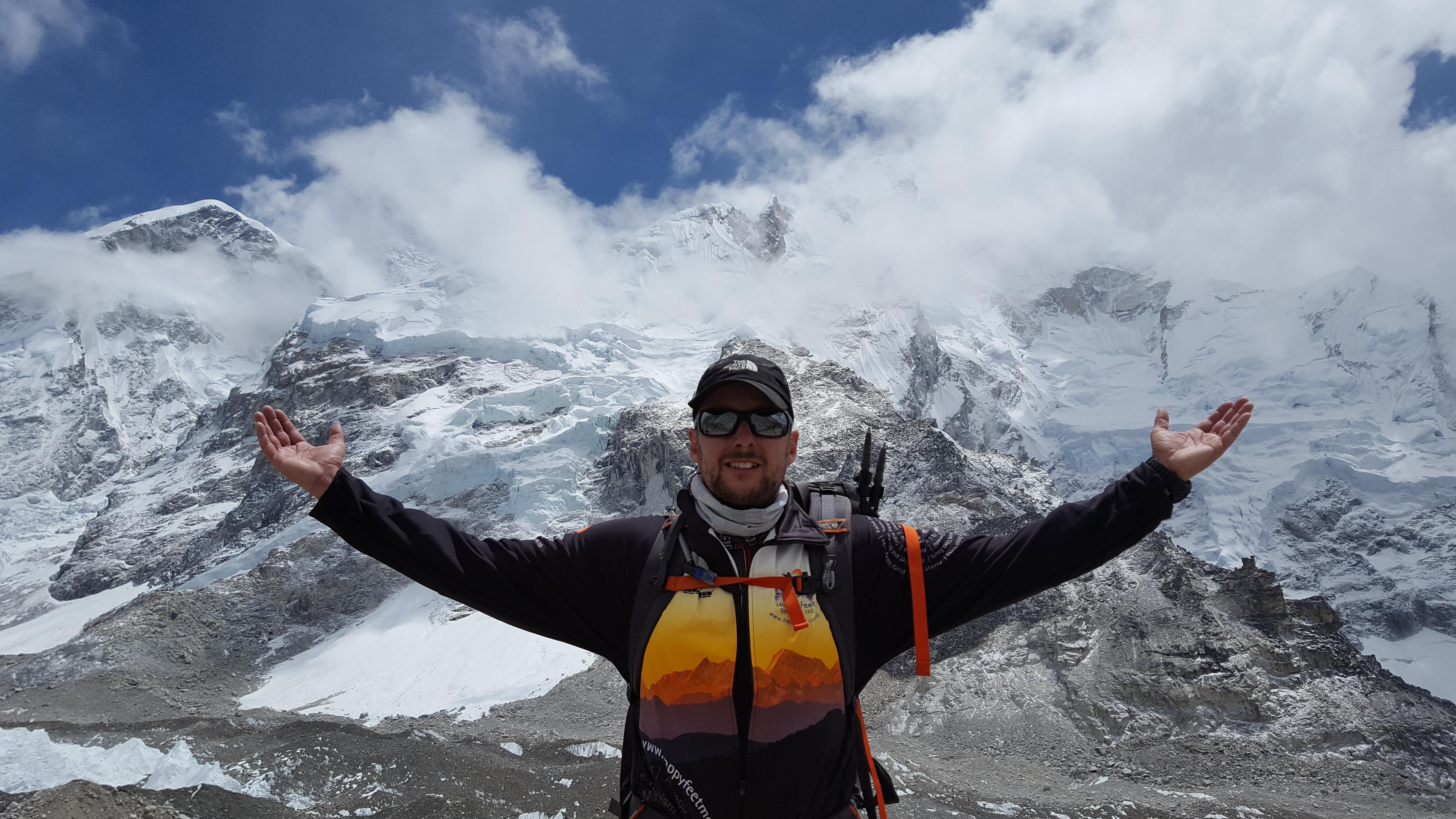 Känslan efter att ha misslyckats med världens högsta berg.