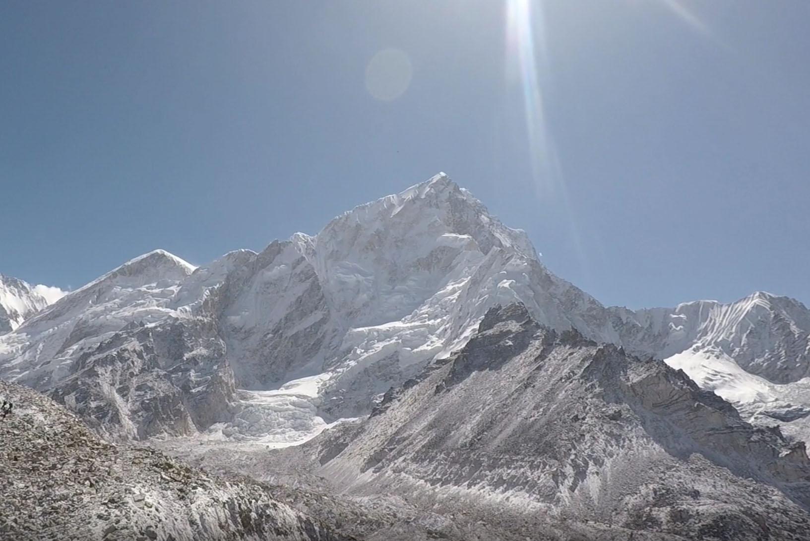 Sneak preview; film från Everest på G