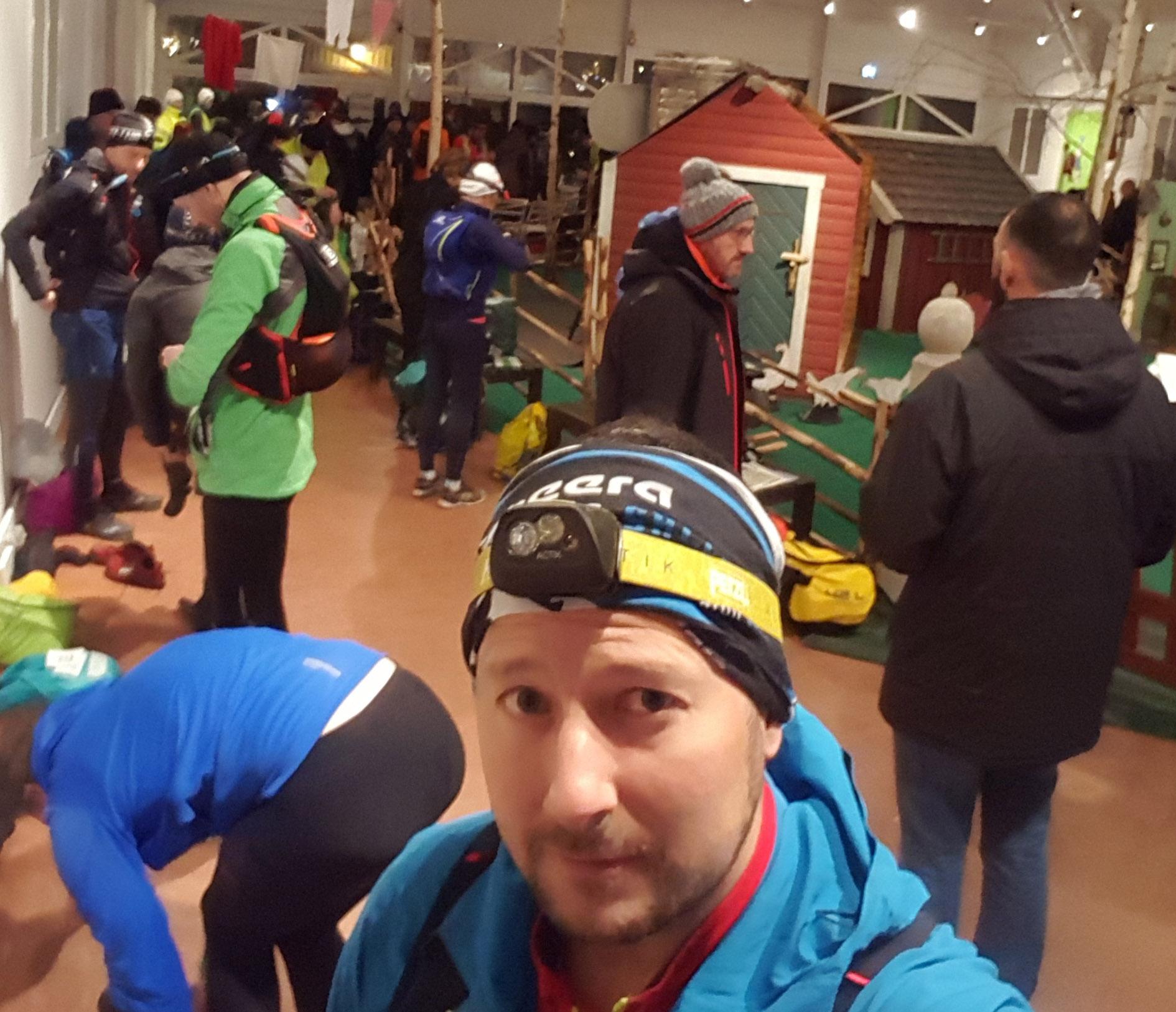 Avbruten trailtävling efter bara en maradistans