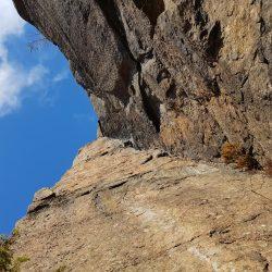 En grym träningsdag hängandes i klättersele!