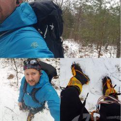 Vandring med expeditionsutrustning – och ryggsäckstest.