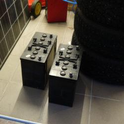 Batterier inköpta